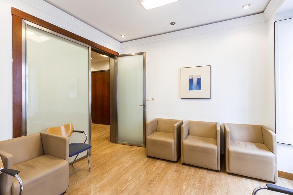 Sala de espera Otorrinos Ourense